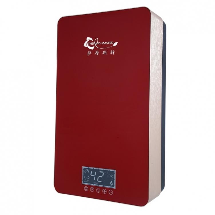 速热电热水器外观小巧,增添了不少时尚元素