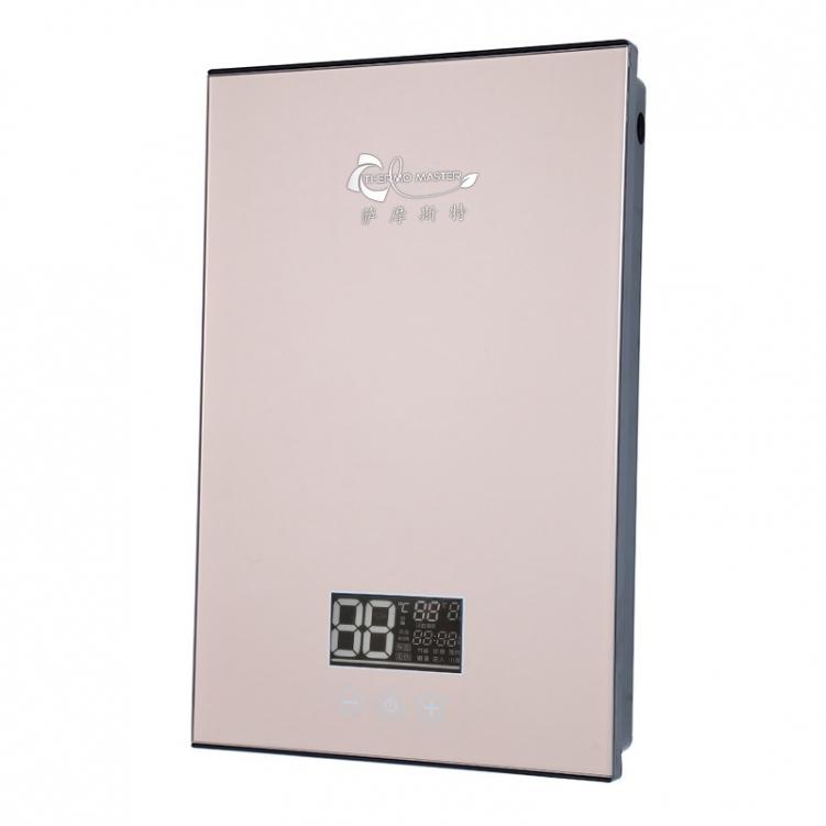 小浴室空间和即热式电热水器产生精致的火花